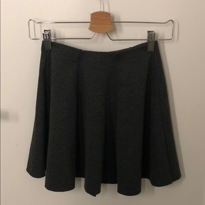 Zara Trafaluc Grey Skirt